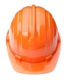 Casque orange Images stock
