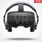 Casque original de 3d VR Photographie stock