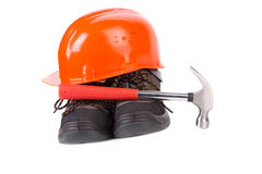 casque protecteur Image libre de droits