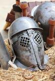 Casque romain Photographie stock libre de droits