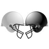 casques de football Photos stock