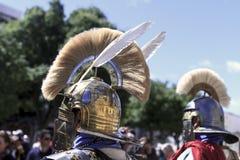 casques des soldats romains photographie stock libre de droits