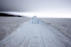 Casquete glaciar de Vatnajokull Imagen de archivo libre de regalías