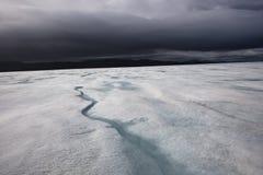 Casquete glaciar de Vatnajokull Imagen de archivo