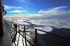 Casquetes glaciares polares fotografía de archivo