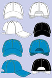 Casquettes de baseball Illustration de Vecteur