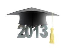 Casquillo 2013 de la graduación Foto de archivo