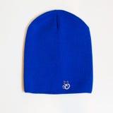 Casquillo azul Fotografía de archivo libre de regalías