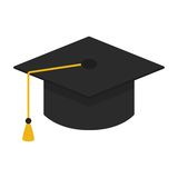 Casquillo de la graduación Imagenes de archivo