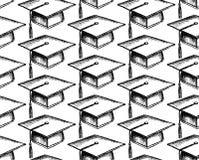 Casquillo de la graduación del bosquejo Imagen de archivo libre de regalías