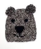 Casquillo de lana divertido Imagenes de archivo