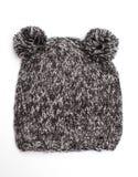 Casquillo de lana divertido Imagen de archivo libre de regalías