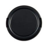 Casquillo de lente con el camino de recortes Foto de archivo libre de regalías
