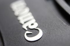 Casquillo de lente del canon Foto de archivo libre de regalías
