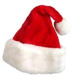 Casquillo de Papá Noel stock de ilustración