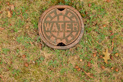 Casquillo del acceso del agua Imagen de archivo libre de regalías