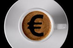Casquillo del café Foto de archivo libre de regalías
