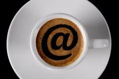 Casquillo del café Imagen de archivo