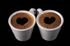 Casquillo del café Fotografía de archivo libre de regalías