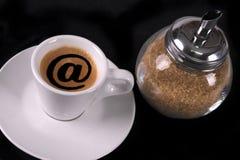 Casquillo del café Imagen de archivo libre de regalías