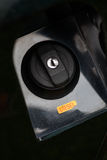 casquillo del combustible del coche Imagen de archivo