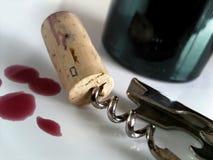 Casquillo del corcho Foto de archivo