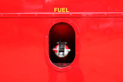 Casquillo del depósito de gasolina Imagen de archivo libre de regalías
