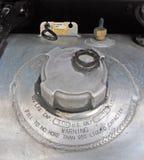 Casquillo del depósito de gasolina diesel Fotos de archivo libres de regalías