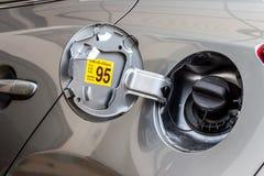 Casquillo 1 del depósito de gasolina del coche Imágenes de archivo libres de regalías