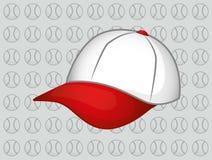 Casquillo del sombrero de béisbol Foto de archivo libre de regalías