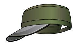 Casquillo militar Imágenes de archivo libres de regalías