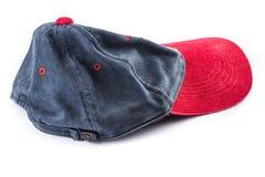 Casquillo o sombrero aislado en blanco Foto de archivo libre de regalías