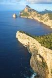 Casquillo rocoso Formentor Imagenes de archivo