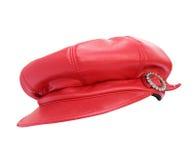 Casquillo rojo Imagen de archivo libre de regalías