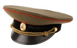 Casquillo soviético del ejército Foto de archivo libre de regalías