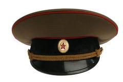 Casquillo soviético del ejército Fotos de archivo
