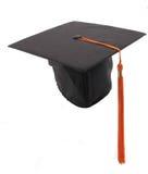 Casquillo y borla de la graduación Foto de archivo libre de regalías
