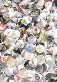 Casquillos 4 del aerosol Imágenes de archivo libres de regalías