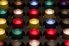 Casquillos de Cofee Imagen de archivo libre de regalías