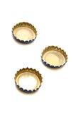 Casquillos de la cerveza Imágenes de archivo libres de regalías