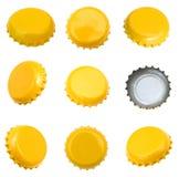 Casquillos de la cerveza Fotografía de archivo libre de regalías