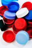 Casquillos de la recuperación del plástico foto de archivo libre de regalías