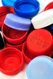 Casquillos de la recuperación del plástico imagen de archivo libre de regalías
