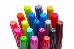 Casquillos del color Imagen de archivo