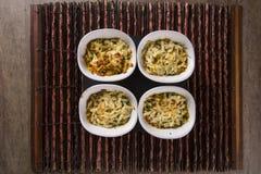 Casquinha de Siri 螃蟹膳食焦干酪开胃菜 图库摄影
