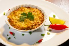 Free Casquinha De Siri. Crab Meal Gratin Stock Photography - 147047082