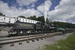 Cass Scenic Excursion Train - 1 Stock Photo