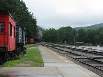 Cass West Virginia Scenic Railway station Royalty Free Stock Photography