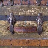 Cassa antica Fotografia Stock