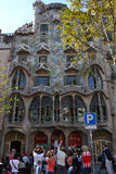 Cassa Balio Gaudi. In Barcelona Spain Royalty Free Stock Photography